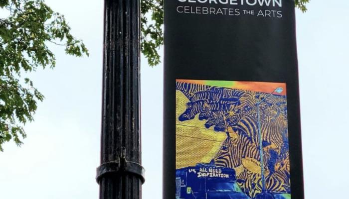 'Georgetown Celebrates the Arts' Outdoor Exhibit